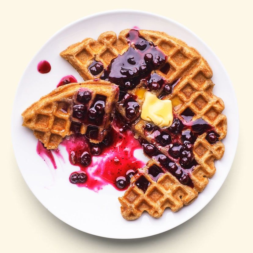 Whole Wheat Oat Waffles Recipe Recipe In 2020 Sugar Free Waffles Waffle Recipes Waffles