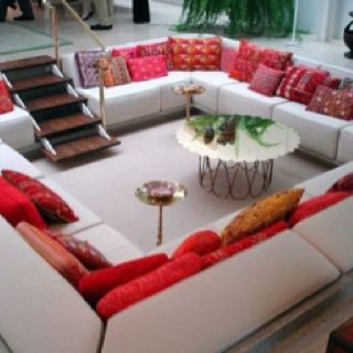 For sure, my future home will have a Conversation Pit/Sunken Living Room!