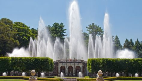 Water Gardens And Everything Else At Longwood Near Philadelphia Pa Formerly A Dupont Estate Now Open To The Public This Image Main Fountain