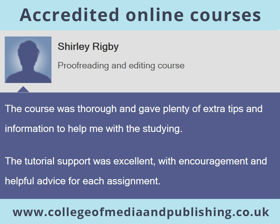 Proofreading & Editing Course Review By Graduate Shirley