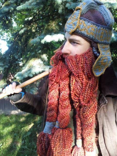78213103eea GImli Inspired Helmet and Beard - LOTR