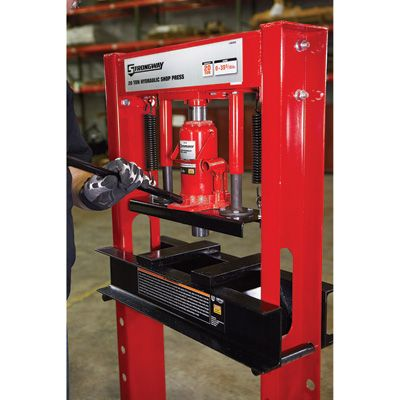 Strongway 20 Ton Hydraulic Shop Press In 2019 Welding