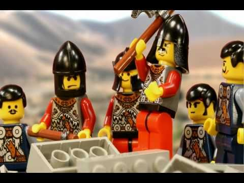 This very cool stop-motion Lego animation telling of the story of ...