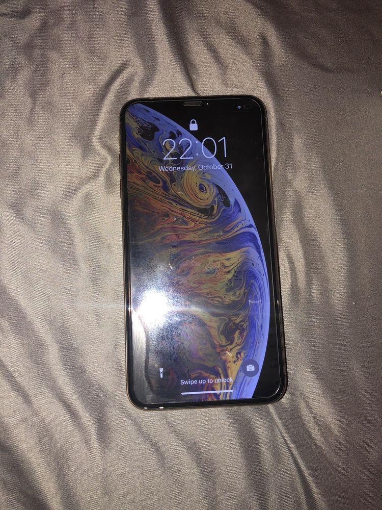 Apple Iphone Xs Max 64gb Gold Unlocked A1921 Cdma Gsm