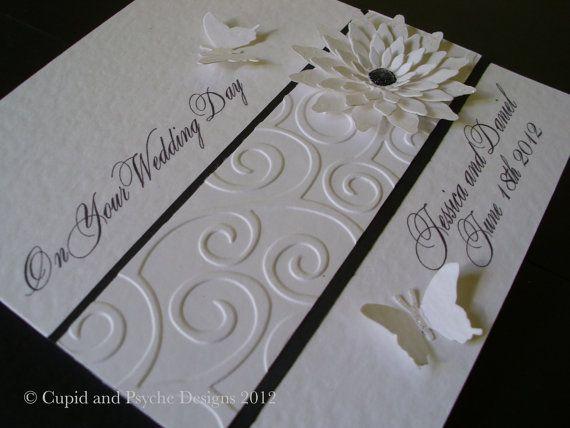 Wedding Card Congratulations Flower and by CupidandPsyche 852
