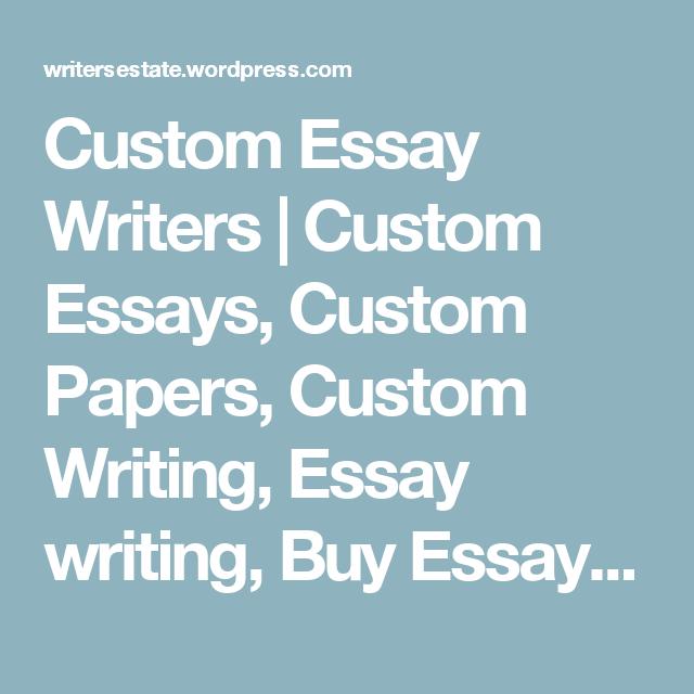 custom writing paper for essays