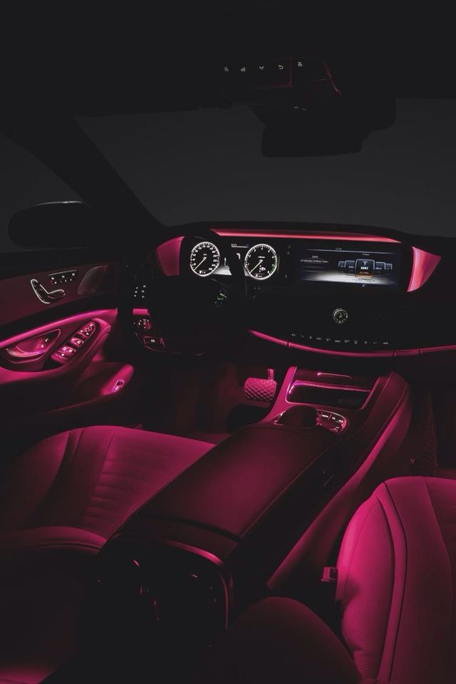 Pink Interior Lighting