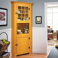 Corner Buffet Cabinet Issue No 312 Diy House Renovations