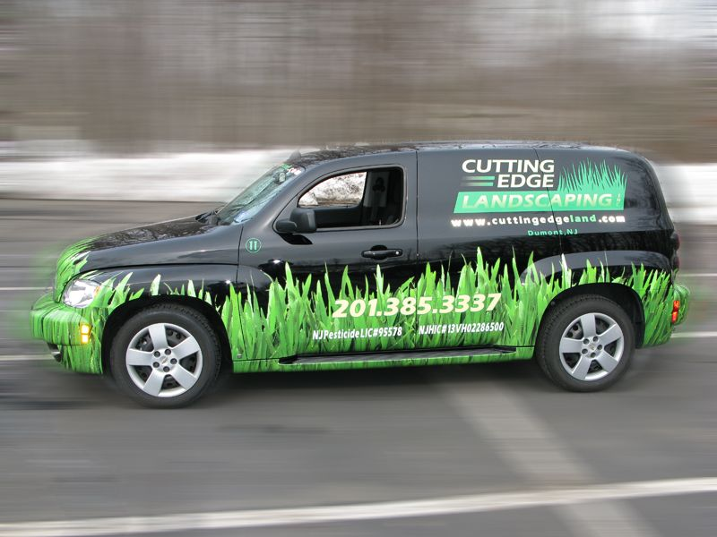 Pin by Riveting Wraps on landscape fleet graphics Car