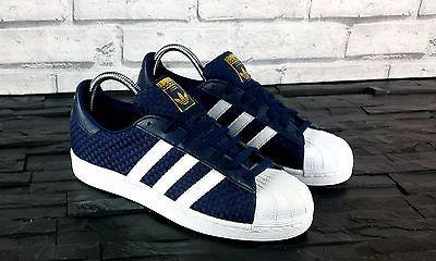 Adidas Originals Superstar Blue Weave