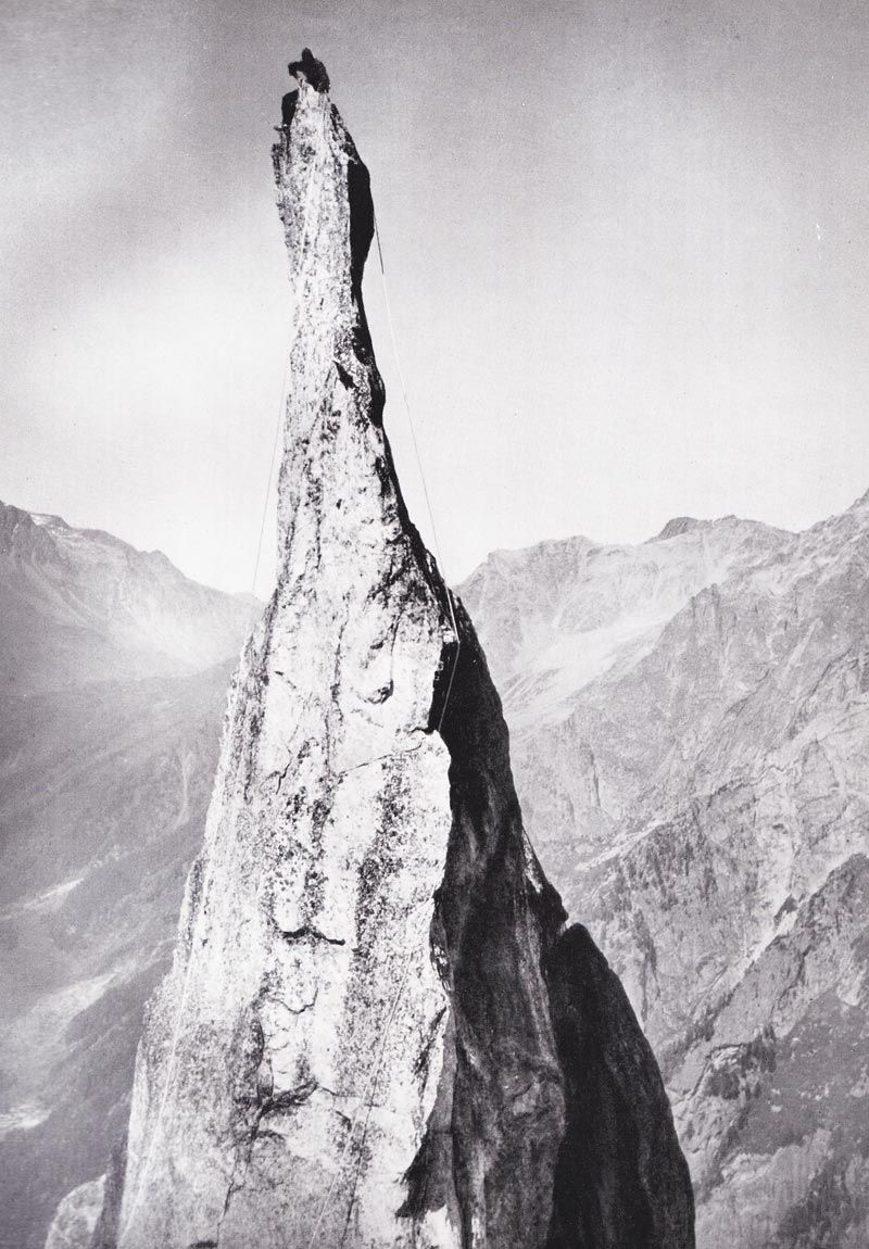 Climbing the Alps in the 1940's Mister Crew Climbing