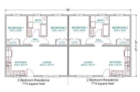 simple small house floor plans | modular duplex | tlc modular homes