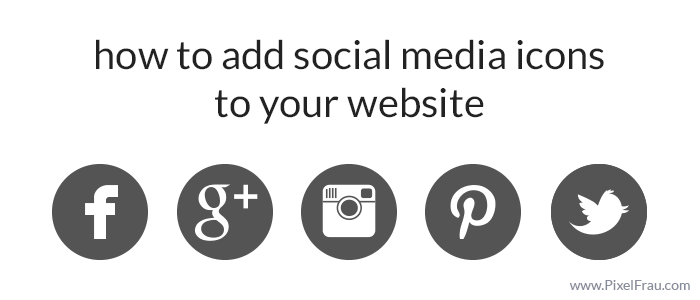 How to Add Social Media Icons to Your Website | Blog