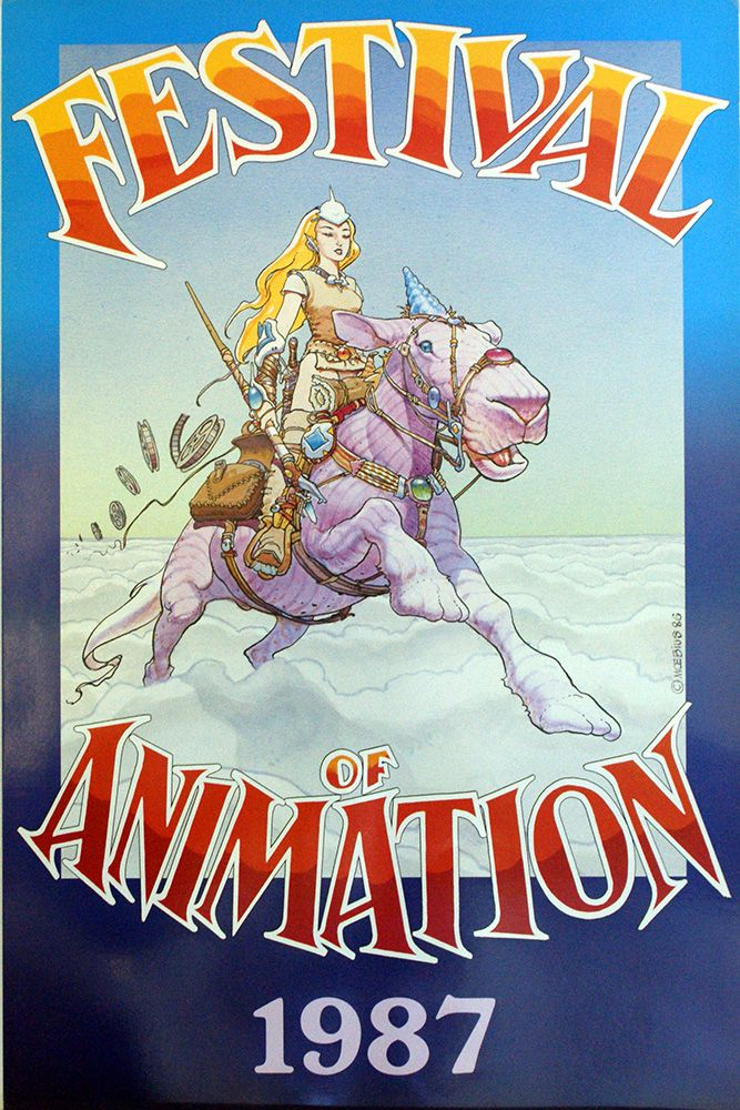 Festival of Animation (Print) art by Moebius (Jean Giraud) at The Illustration Art Gallery