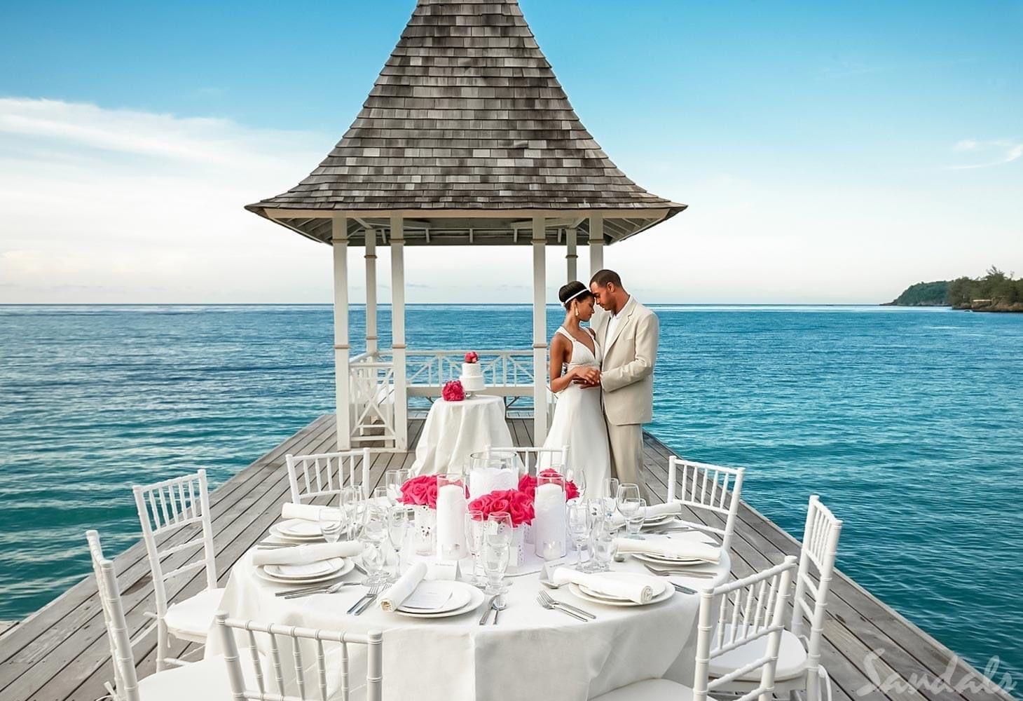 Sandals Resort Wedding In 2020 Destination Wedding Caribbean Destination Wedding Locations Destination Wedding Package
