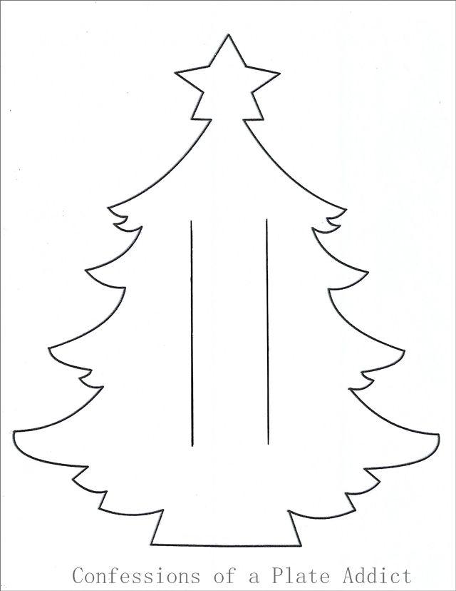 Easy Christmas Tree Napkin Holder