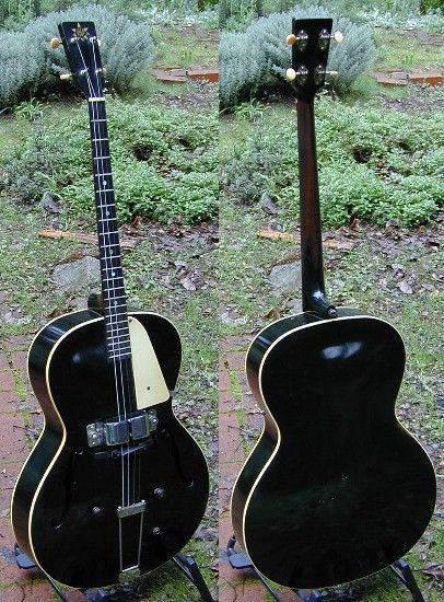 1939 Vega Electric Archtop Tenor Guitar | Electrics | Pinterest ...