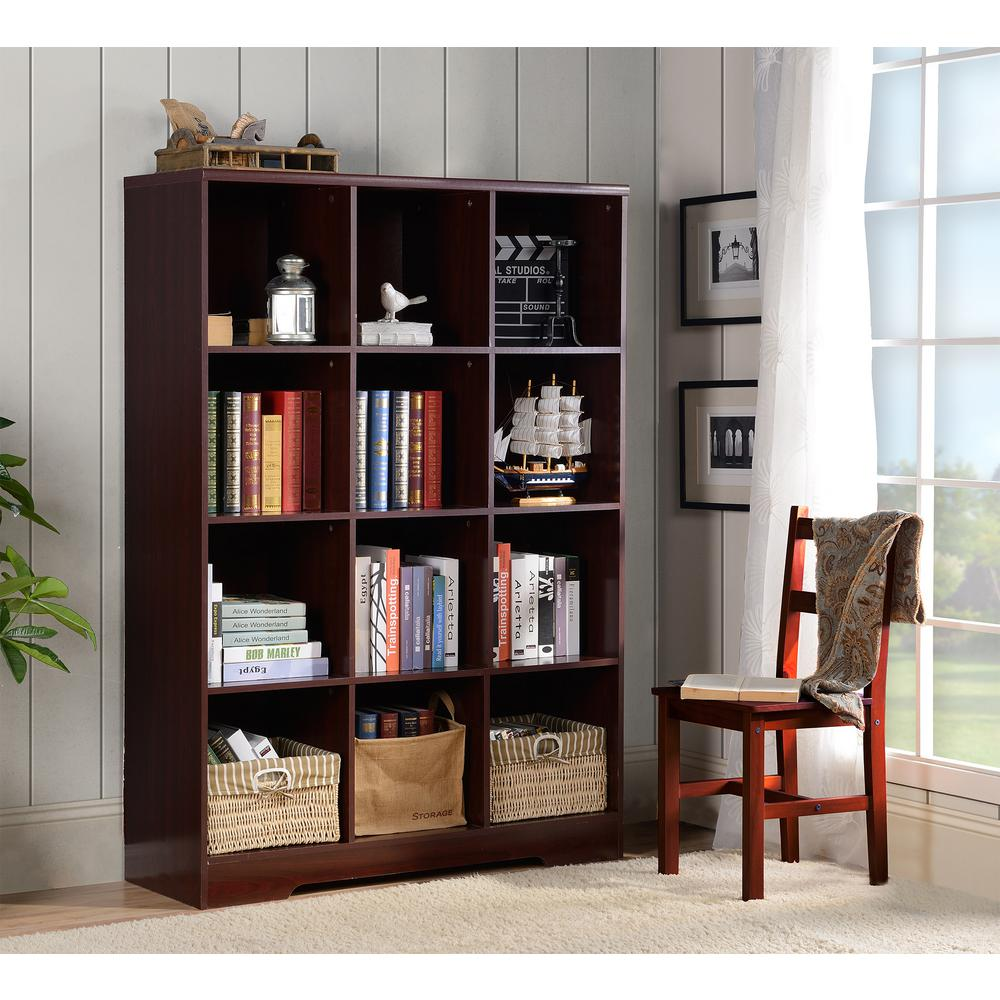 OS Home And Office Furniture Large 12-Cube Storage