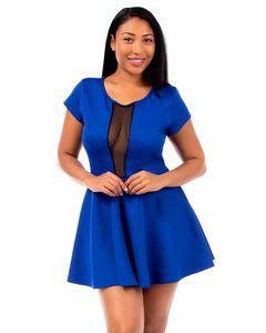 WHOLESALE PLUS SIZE SHEER CUT DRESS | $8.25 | Plus size Clothing for ...