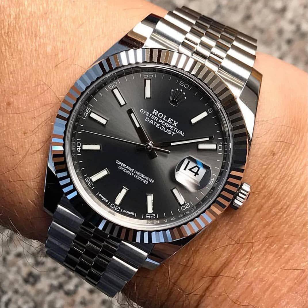 """Rolex Watches Swiss Luxury on Instagram: """"Rolex Datejust"""