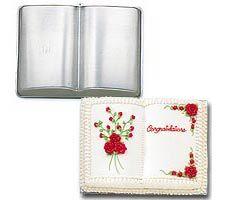 Molde de tarta en forma de libro
