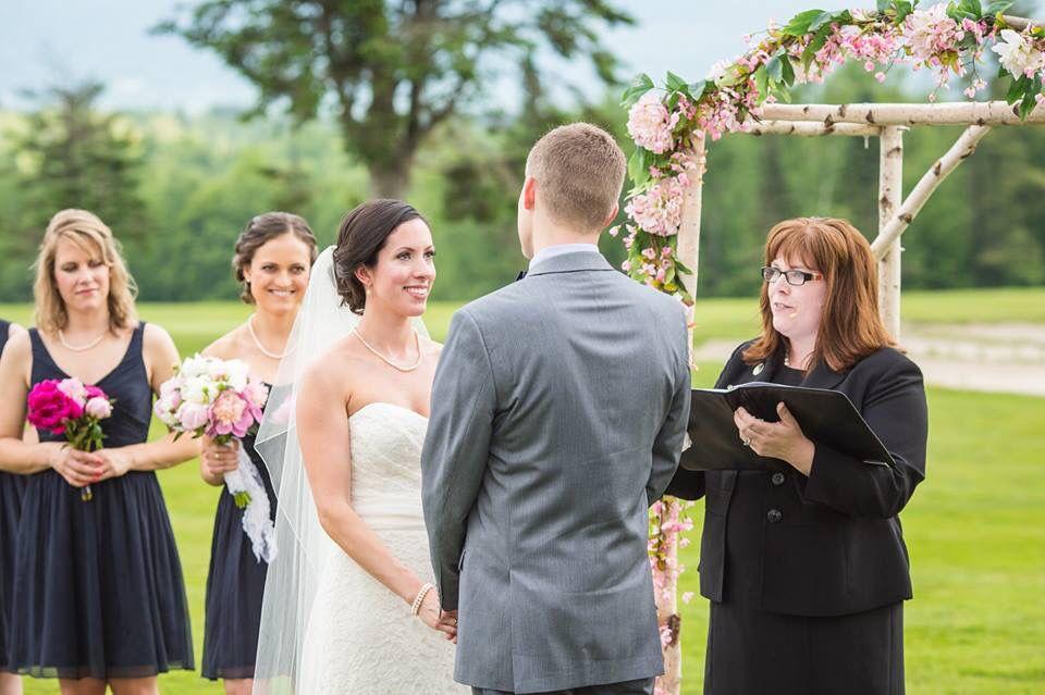 Elisa Chase Wedding Celebrant New Hampshire Wedding