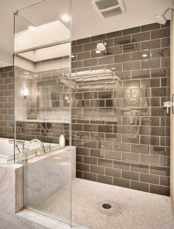 11 Simple Ways To Make A Small Bathroom Look Bigger Modern Master Bathroom Contemporary Bathrooms Bathrooms Remodel