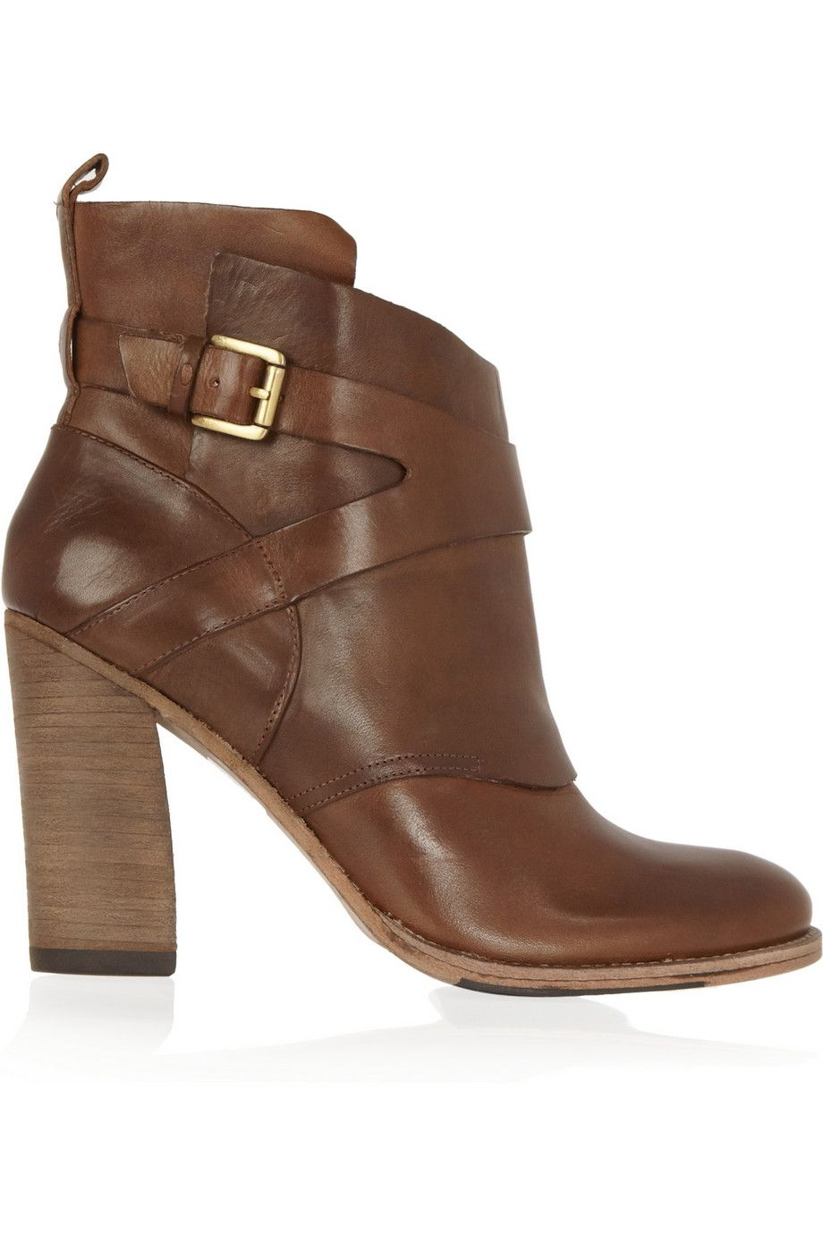 ebc38fc37f2 Leather ankle boots by Belle Sigerson Morrison
