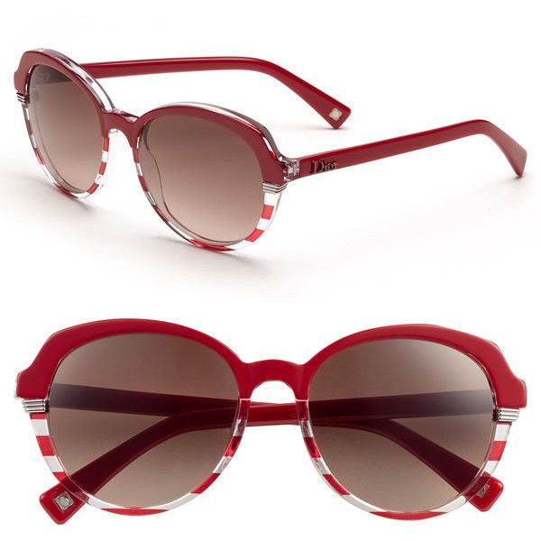 227bd7eaad536 Dior  Croisette 3  Retro Sunglasses (19.245 RUB) ❤ liked on Polyvore  featuring