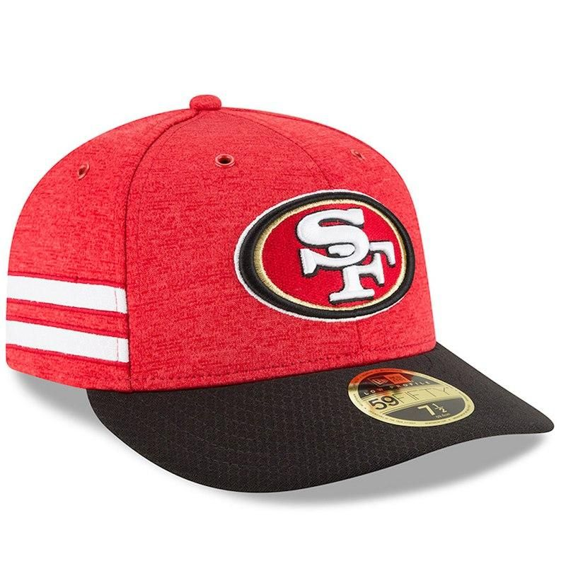fall  fashion  trends  styles  AdoreWe  Fanatics.com -  New Era San  Francisco 49ers New Era 2018 NFL Sideline Home Official Low Profile 59FIFTY  Fitted Hat ... 53aa83e19b5