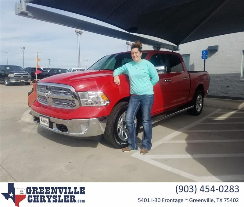 Congratulations Cheryl on your Ram 1500 from Rosa