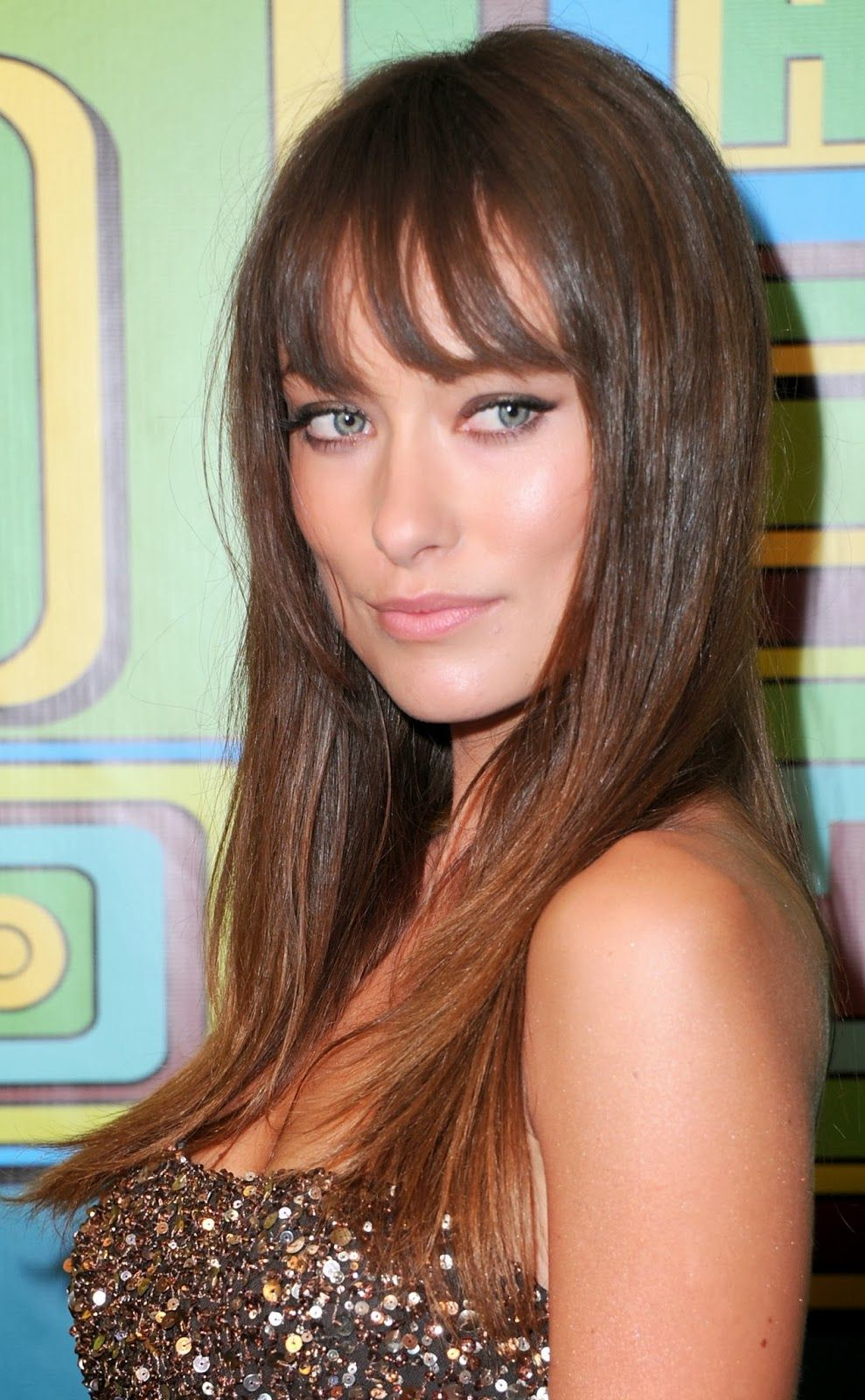 the best bangs for a square face shape | hair | pinterest | hair