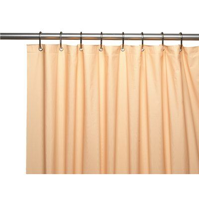 Ben And Jonah Premium 4 Gauge Vinyl Shower Curtain Liner With