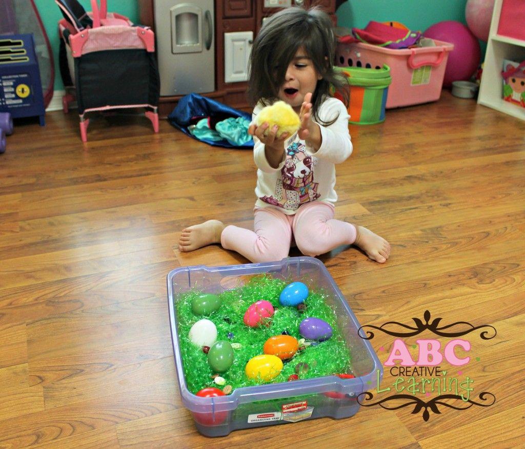 Easter Play Bin