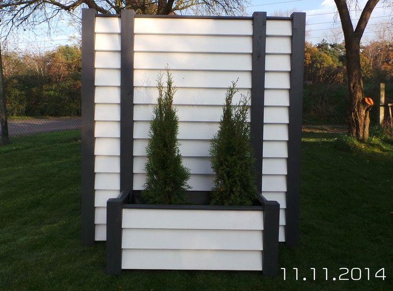Gartendekoration Mobiler Sichtschutz 170x190 m