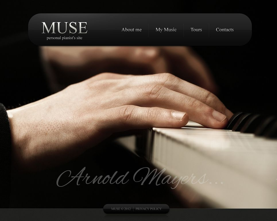 Pianist Page Wix Website Template Template Website And Design Web - Wix privacy policy template