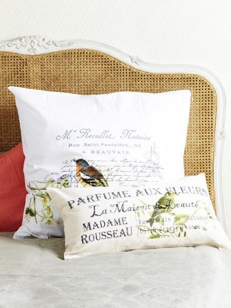Bastelideen im Frühling Hier zieht gute Laune ein Pillows and Nest - neue schlafzimmer look flou