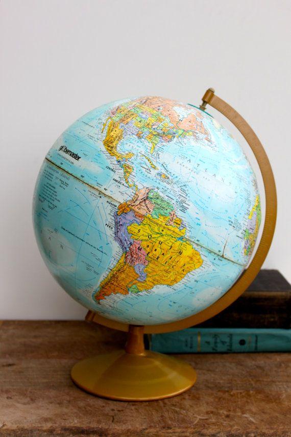 World globe globemaster free shipping in usa globe map globe karel wilde de wereld over gaan nemen gumiabroncs Images