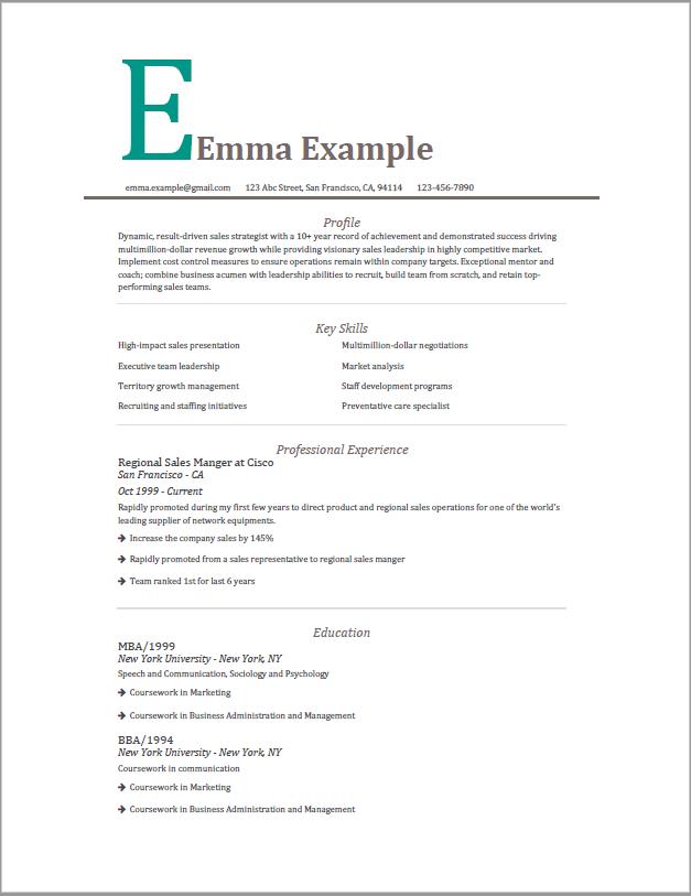 Resume Best Resume Templates 2019 Executive Resume Template