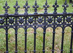 Prepare A Wrought Iron Fence For Painting With Images Wrought