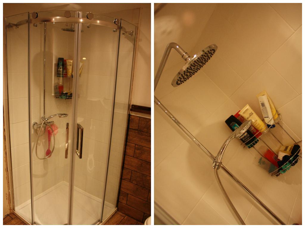 Tecaz bathroom suites - Quadrant Shower Cubicle From Tecaz 200 Exc Waste Tray Etc Adjustable Hower Head