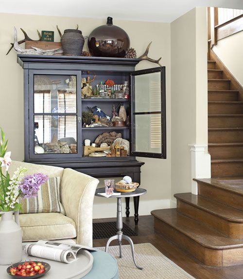 Eclectic Cottage Living Room: An Eclectic Cottage