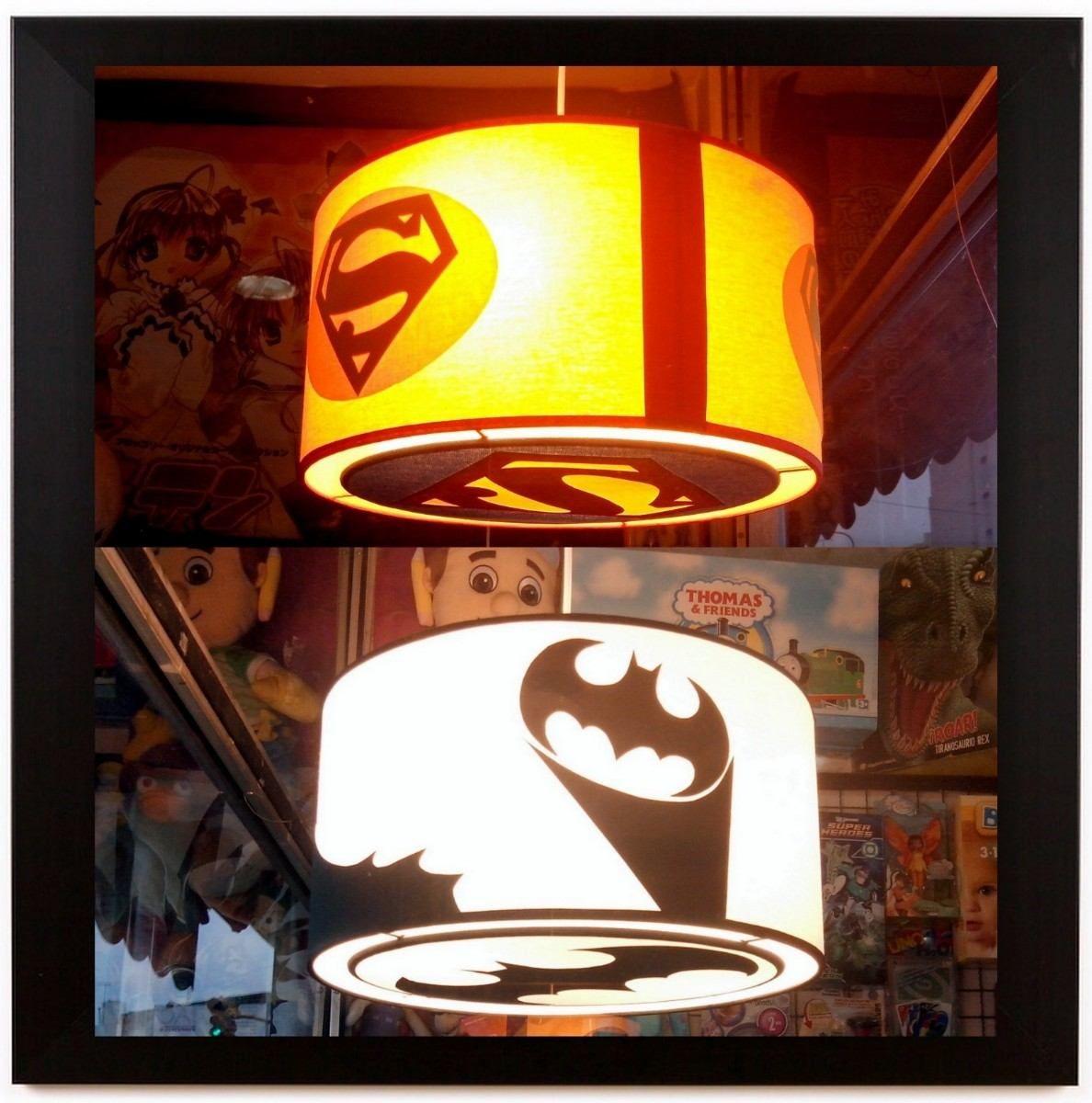 Lamparas Colgantes Superheroes Batman Superman Spiderman 589 00 Lamparas Colgantes Lamparas Batman