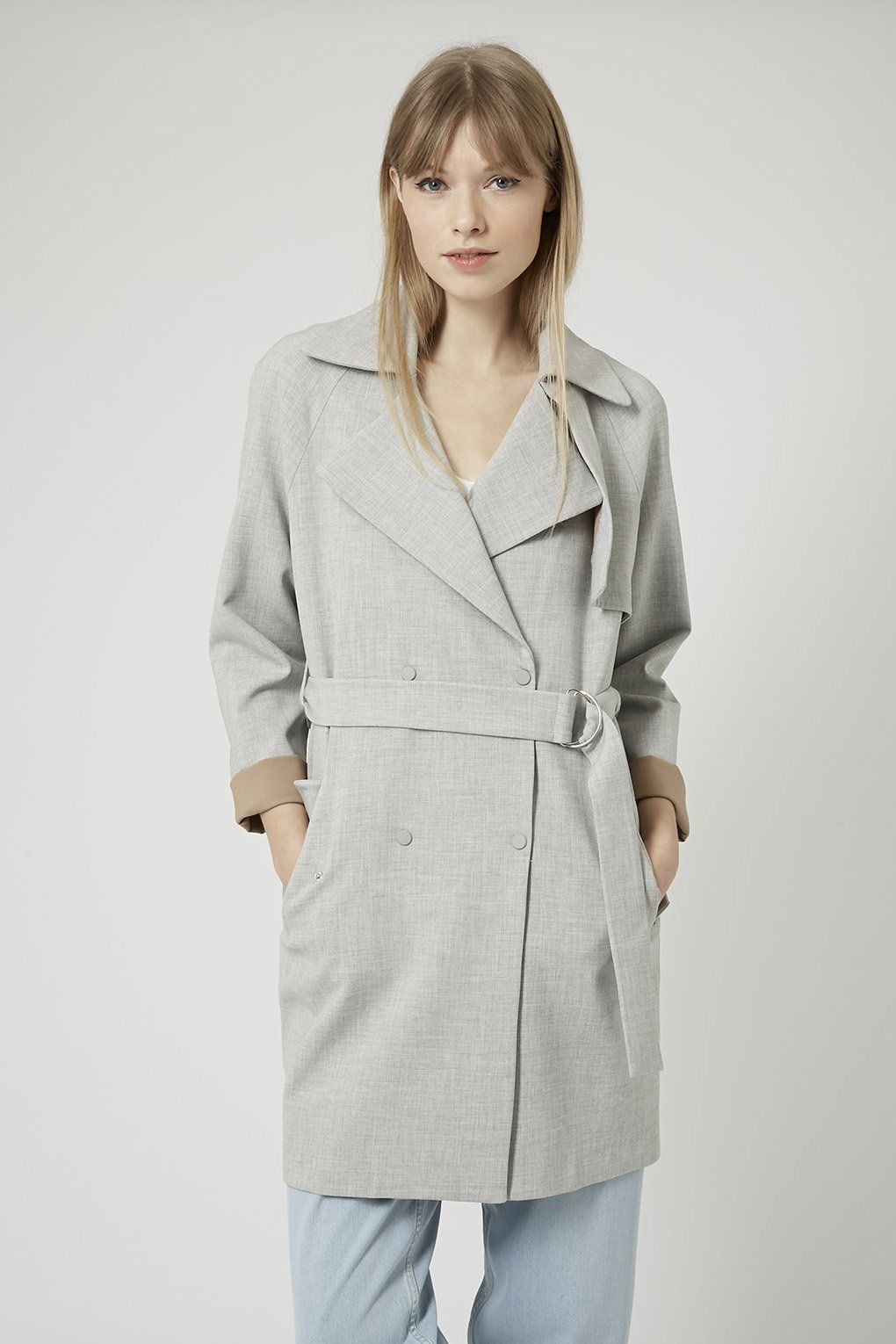 Photo 3 of Soft Belted Trench Coat