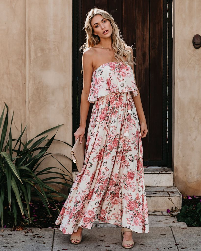 You Had Me At Hydrangea Strapless Maxi Dress Maxi Dress Strapless Maxi Dress Strapless Maxi [ 1024 x 819 Pixel ]