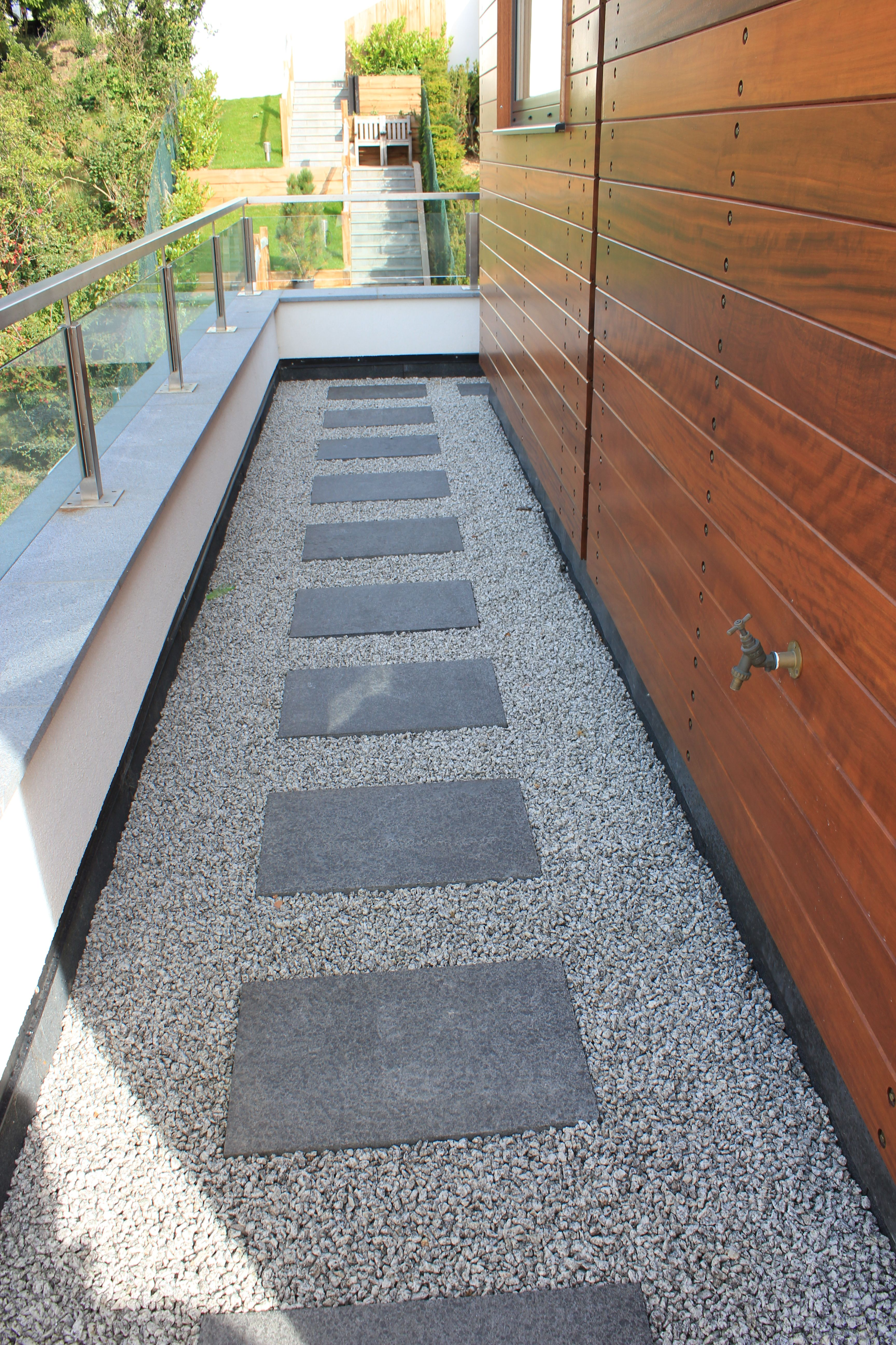 Our Black Basalt Paving Doesn T Have To Be Laid As A Patio To Have