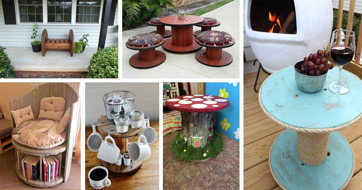 15 Wunderbare DIY Drahtspulen Möbel für Ihr Haus und Garten zu ...