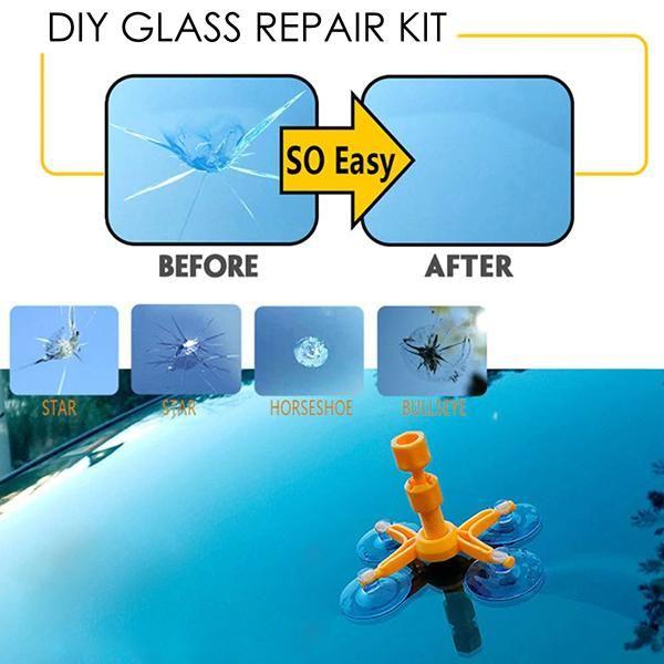 DIY Glass Repair Kit