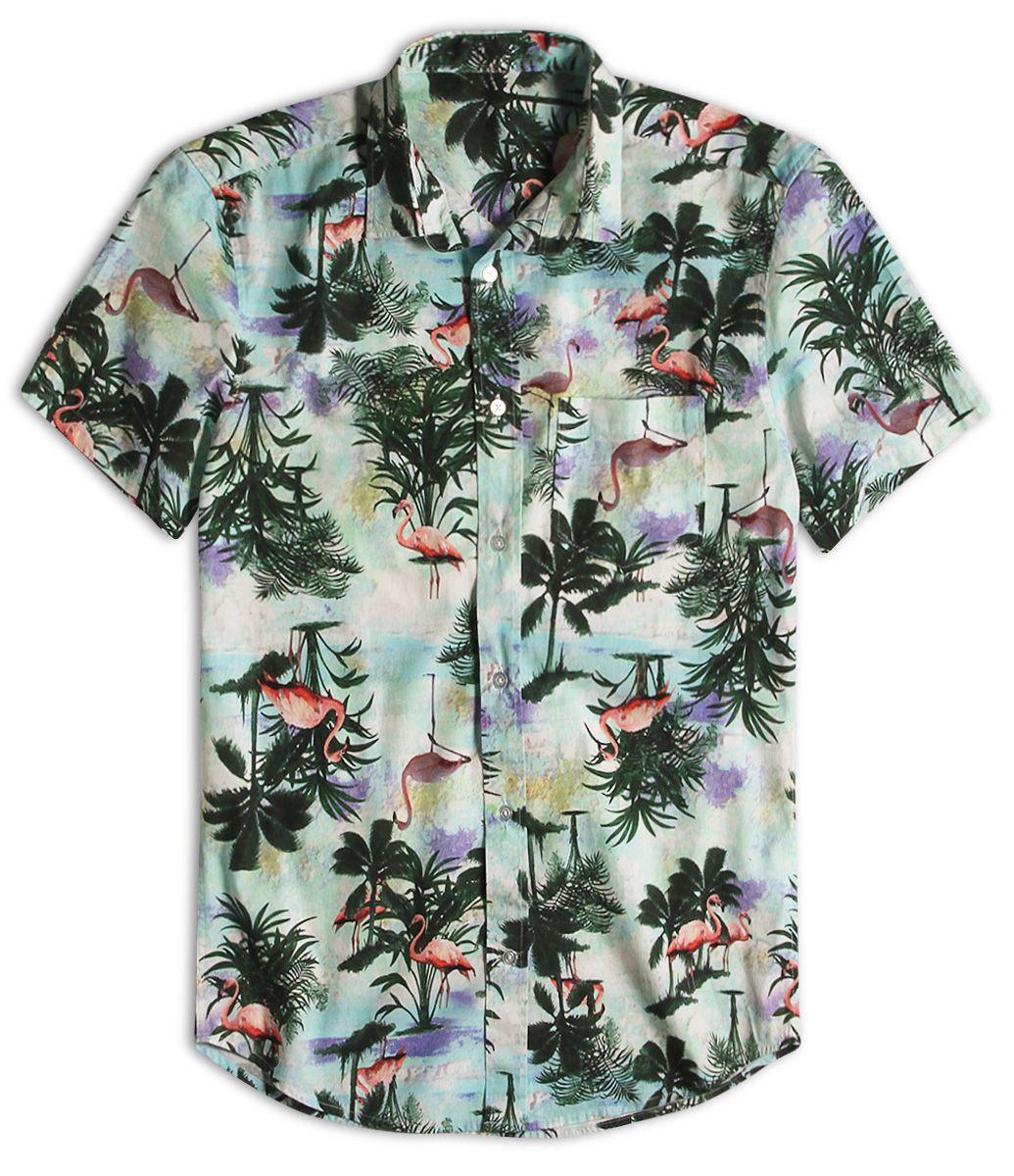 eecfefd86 Manga longa Estampa floral Tecido  tricoline Composição  100% algodão Veja  outras opções de camisa.