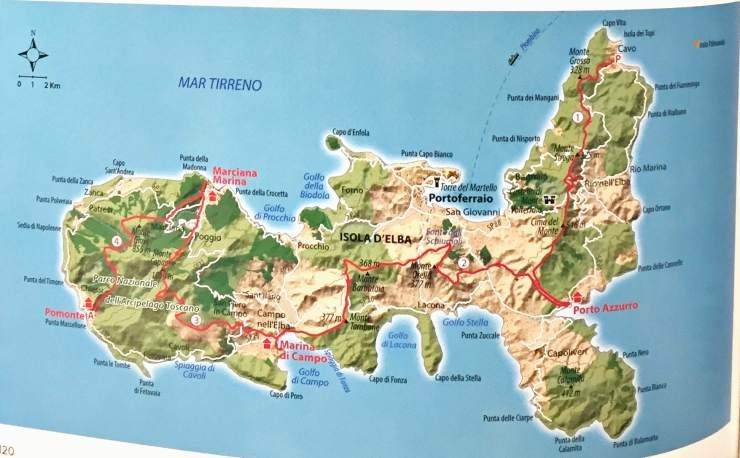 Fiume Elba Cartina Geografica.Trekking All Elba Mappa Elba Ispirazione Di Viaggio Viaggi